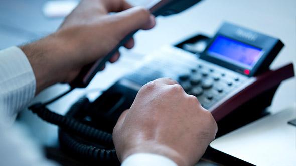 Solution VoIP Cloud, une solution de téléphonie<br>en mode hébergée, pour votre téléphonie d'entreprise :